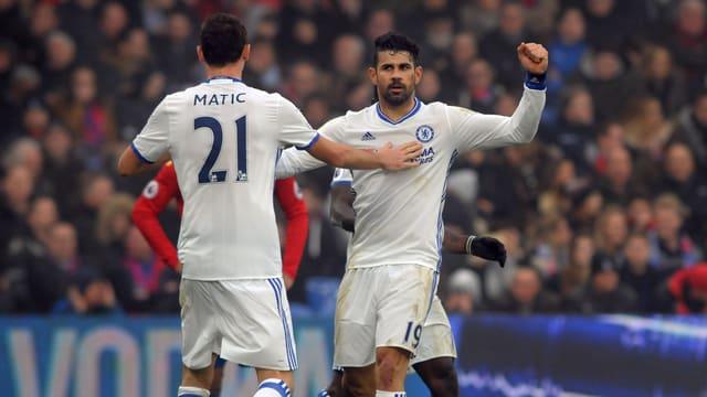 Diego Costa traf in dieser Saison bereits 13 Mal für Chelsea.