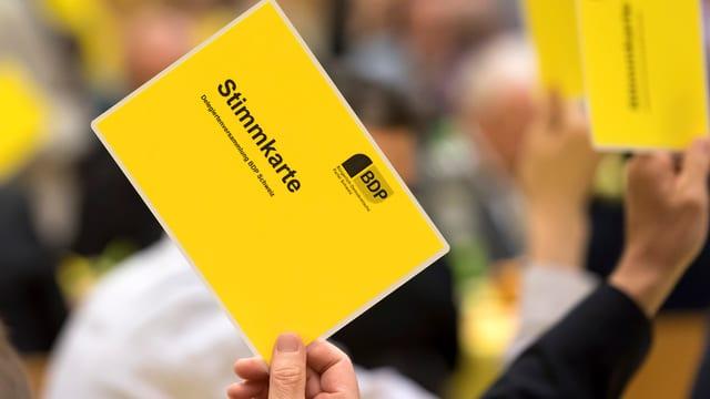 in charta da votar dals delegads da la burgais-democrats