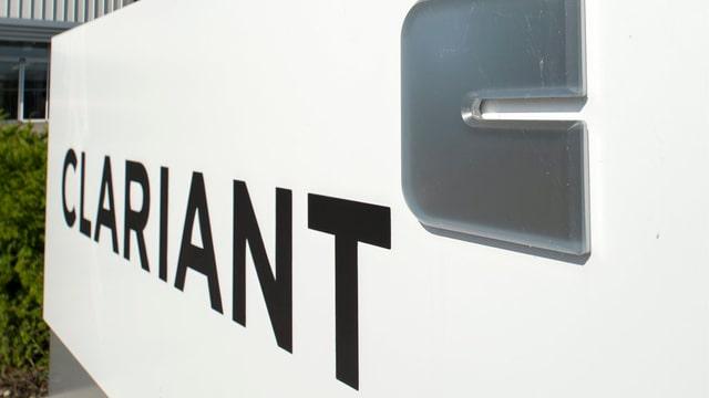 Vista sin il logo dal concern Clariant.