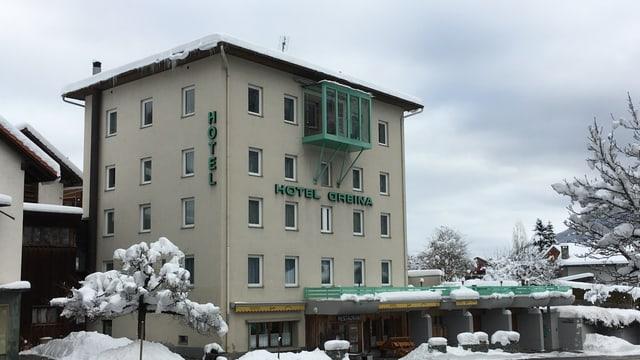 L'hotel Greina a Rabius
