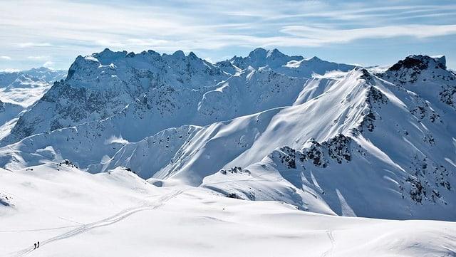 Purtret dal territori da skis Madrisa.