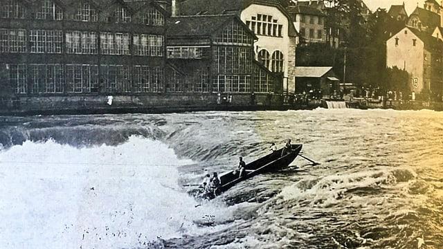 Das Boot mit den jungen Männern