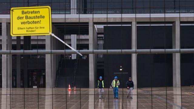 Baustelle Flughafen Berlin Brandenburg.