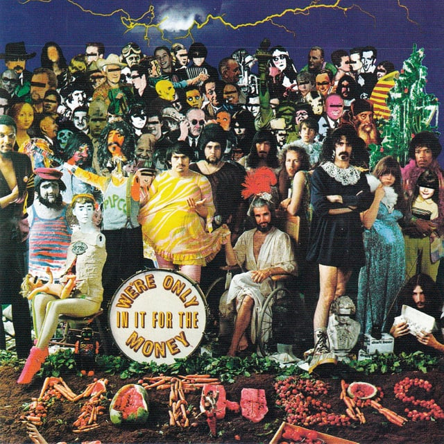 """Cover Frank Zappa: """"We're Only in It for the Money"""""""