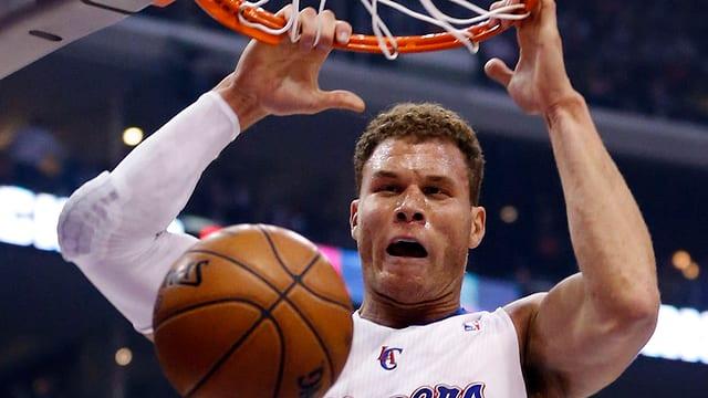 Blake Griffin gehört mit seinen 2m08 zu den furchteinflössenderen Figuren in der NBA.