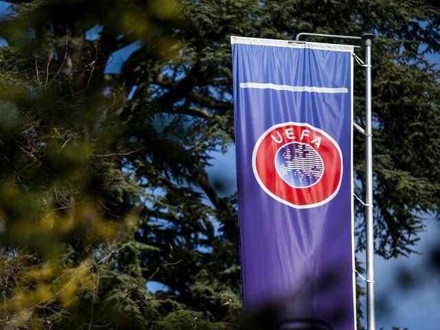 Das Uefa-Flagge