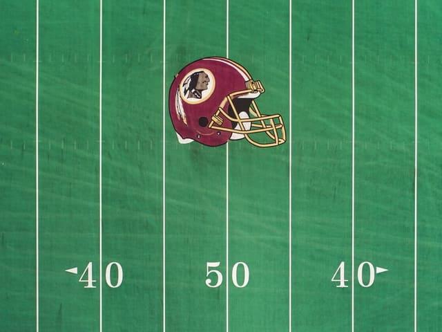 Das Redskins-Logo.