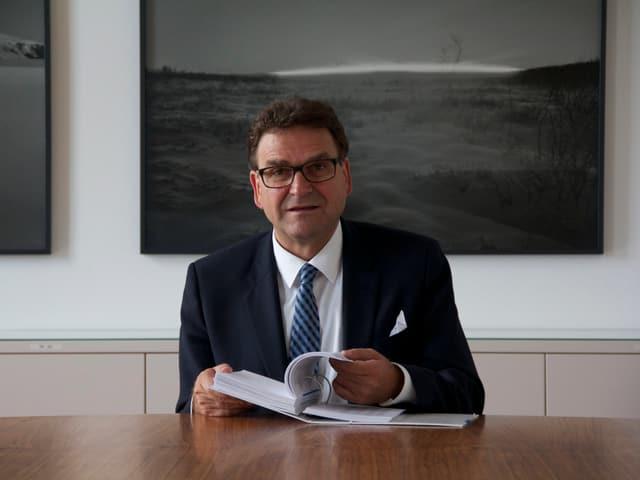 Seit 2007 sitzt Beat Villiger für die CVP im Regierungsrat des Kantons Zug.