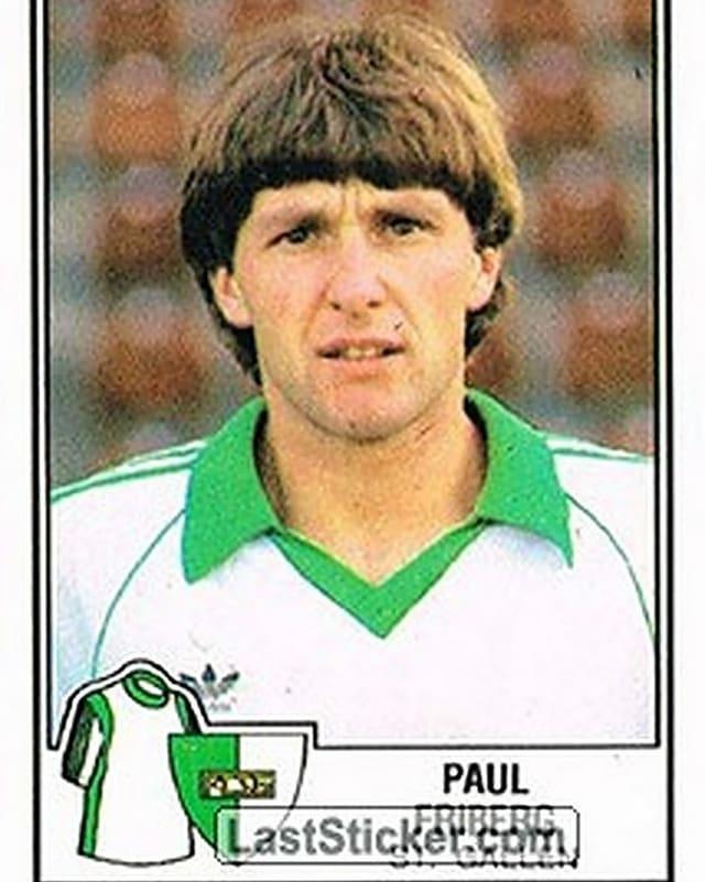 Purtret Paul Friberg