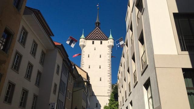 Turm in Baden