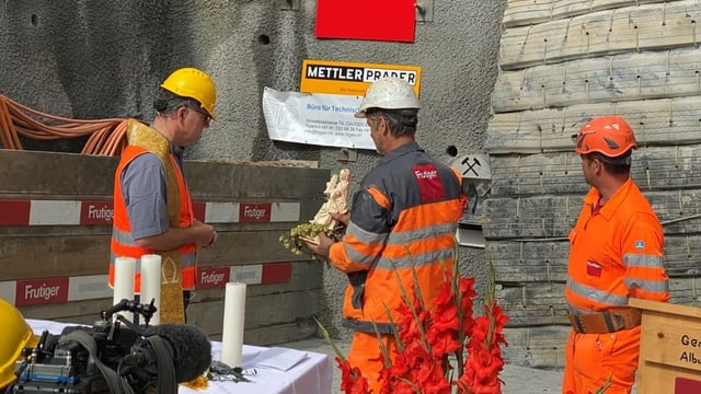 Siglientada per tunnel da sondagi a Brinzauls