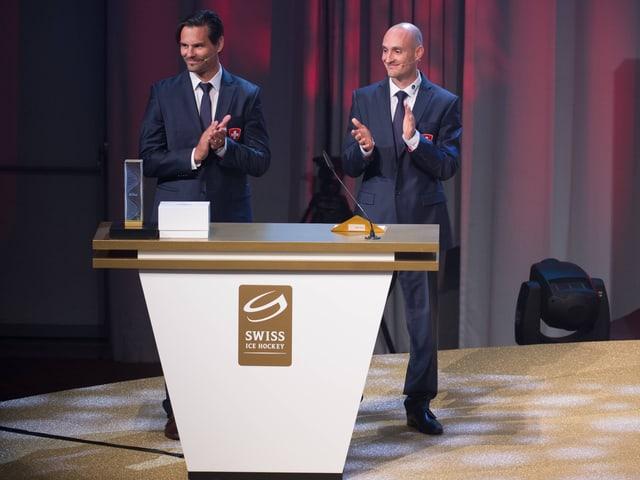 Thierry Paterlini und Christian Wohlwend.