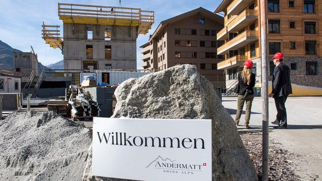 Am Wochenende können Interessierte die Baustelle und den Innenausbau der Häuser besichtigen.
