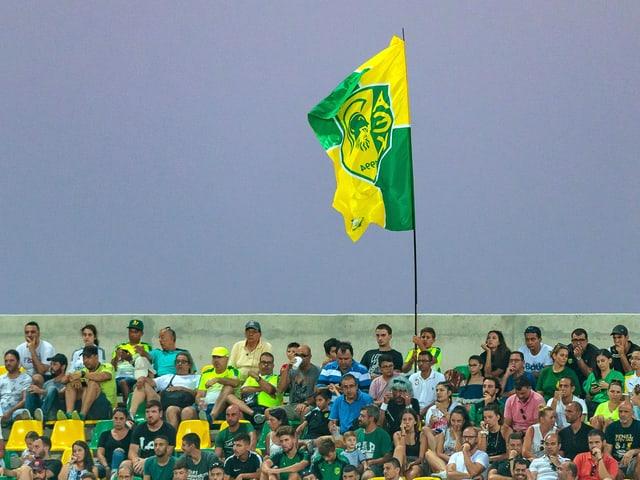 Fans von AEK Larnaka