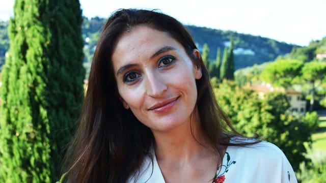 Porträt von Zoe Lefkofridi.