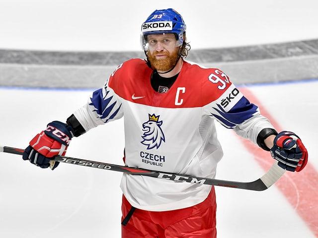 Tschechien-Captain Jakub Voracek.
