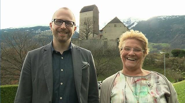 Video «Sarganserland – Tag 2 – Schloss Sargans, Sargans» abspielen