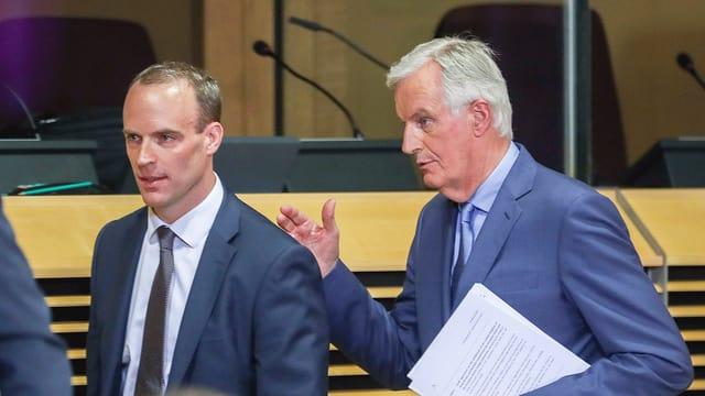 Raab und Barnier