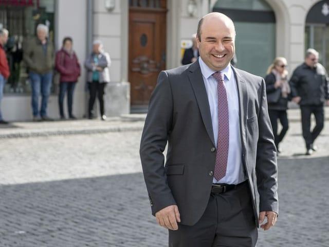 Der Urner Politiker Daniel Furrer.
