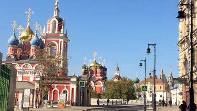 Orthodox church alley