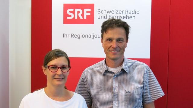 Kerstin Wenk und Thomas Grossenbacher