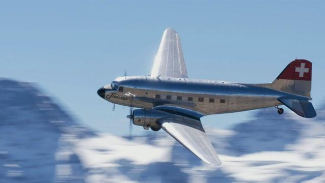 Video «Die DC-3-Story - Das Flugzeug, das die Welt verändert hat» abspielen