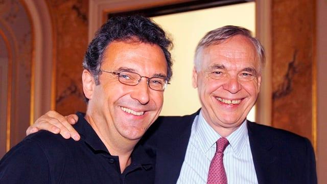Der neue Zürcher Opernhausdirektor Andreas Homoki und sein Vorgänger Alexander Pereira.