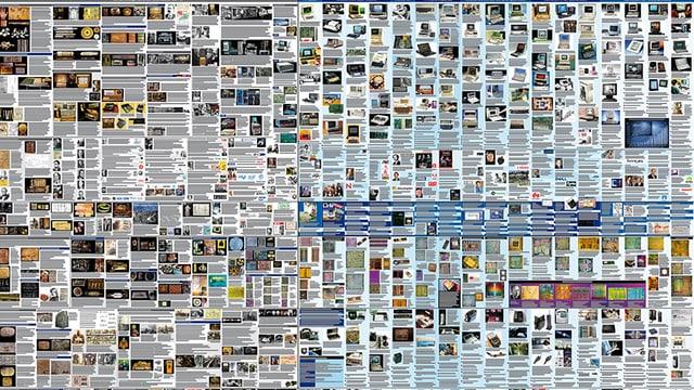 Posterausschnitt mit viel Text und vielen kleinen Bildern.