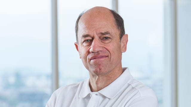 Hans-Peter Stoll, Pflegefachmann am Basler Universitätsspital.