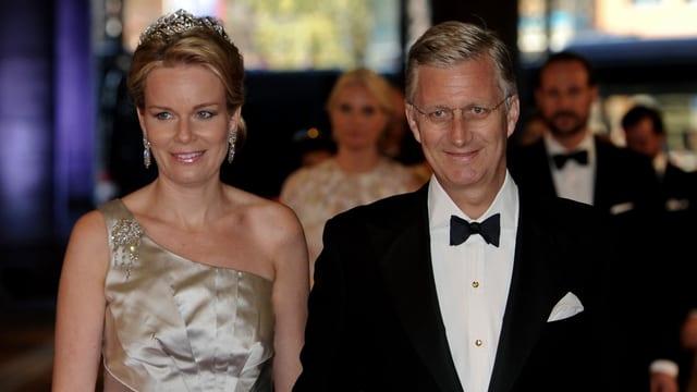 Prinzessin Mathilde und Prinz Philippe