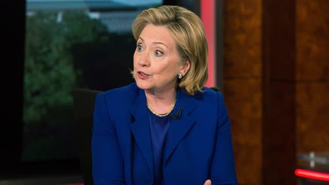 Die ehemalige Aussenministerin Hillary Clinton während eines Interviews (Archivbild)