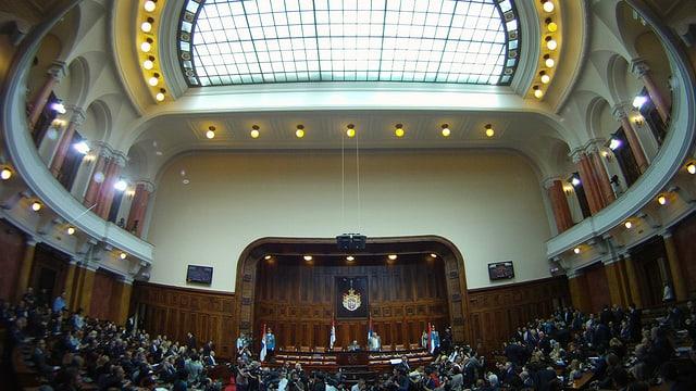 Totale auf ein Parlamentssaal