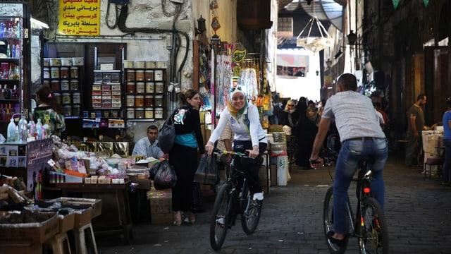 Altstadt von Damaskus, Strassenszene
