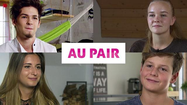 Video «Au pair: Stress mit Fremdsprache und Kinderhüten (2/4)» abspielen