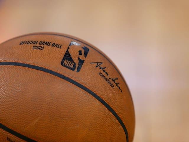 Offizieller NBA-Basketball.