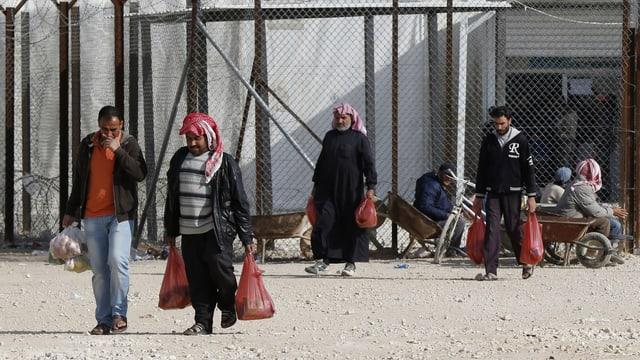 Ein Flüchtlingslager in Jordanien.
