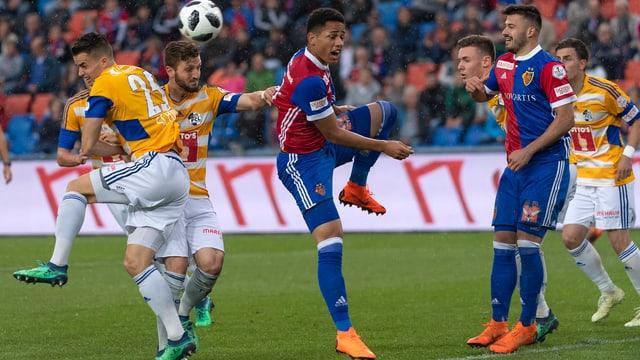 Match Basel-Luzern