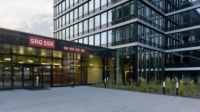 Sez principal da la SRG SSR a Berna