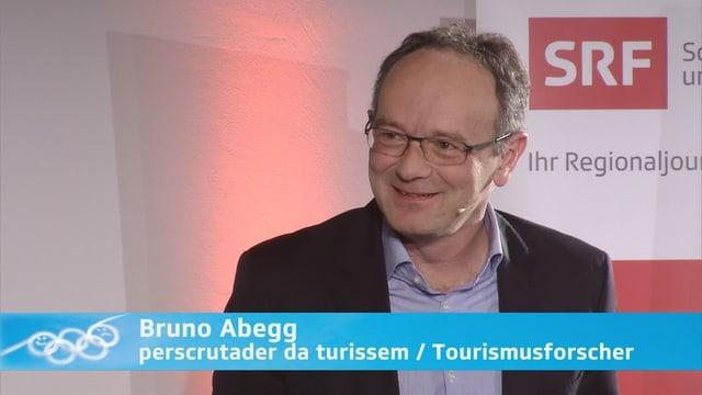 Portrait da Bruno Abegg, perscrutader da turissem