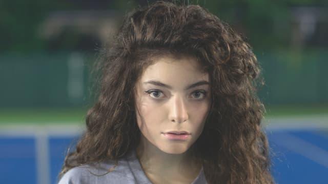 Die neuseeländische Sängerin Lorde