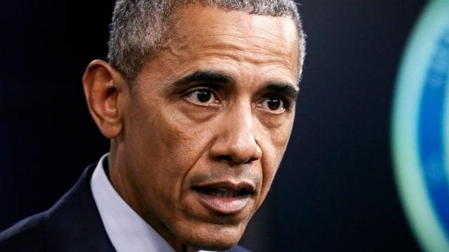 purtret da la fatscha da Barack Obama