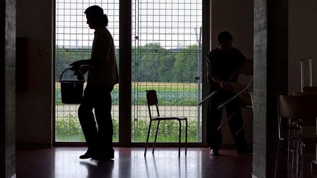 Insgesamt gibt es in der Schweiz heute vier Empfangszentren für Asylbewerber.