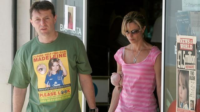 Maddies Eltern Gerry und Kate McCann