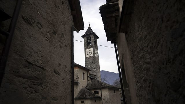 Ein Glockenturm.