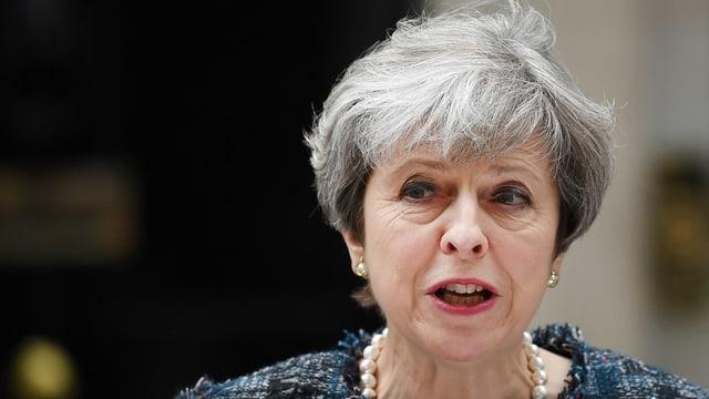 Purtret da Theresa May.