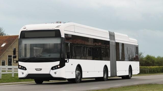 Bild des neuen Elektrobus