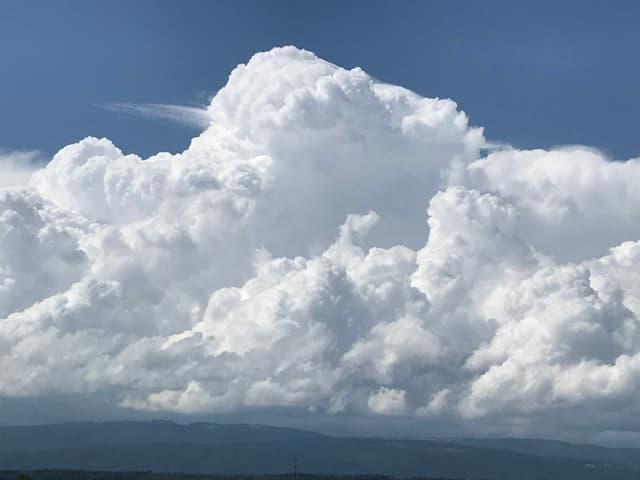 Quellwolken.