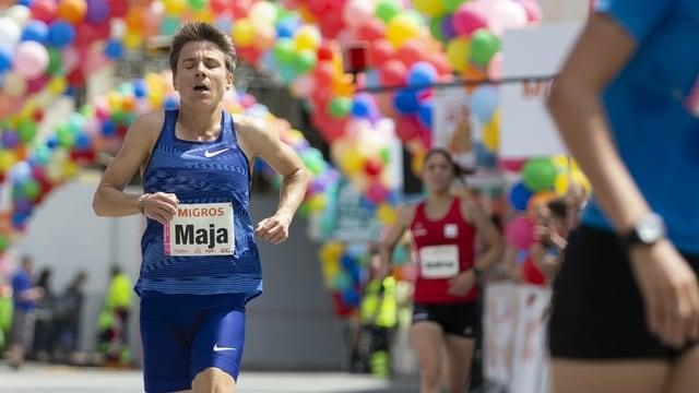 Maja Neuenschwander am Frauenlauf 2019 in Bern