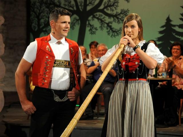 Lisa Stoll und Armin Dörig.