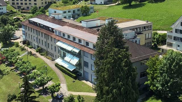 Das Paracelsus-Spital in Richterswil